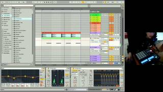 Ableton Live 9 Beginner Tutorial 06 - Beginner EQing, Processing, Effects, Grouping & Return Tracks