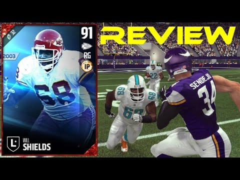 Madden 17 Ultimate Team | Legend Will Shields Review