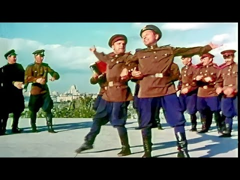 """Soldier's dance"" - The Alexandrov Ensemble (1965)"