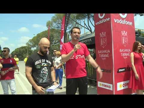 Start of Rally Albania 2017, Tirana