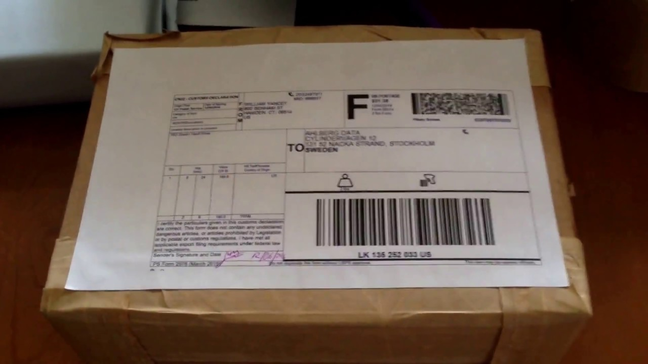 How to safely ship internationally when you sell on eBay using register mail