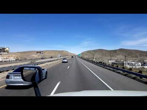 Bigrigtravels Live! - Barstow, California to Mesquite, Nevada - Interstate 15 - March 12, 2017
