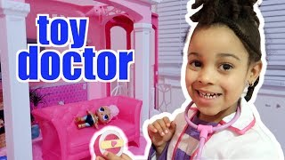 Toy Doctor Cali Saves Broken LOL Surprise
