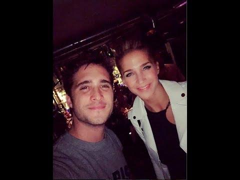 ¿Diego Boneta y Soledad Fandiño a los besos en un bar?