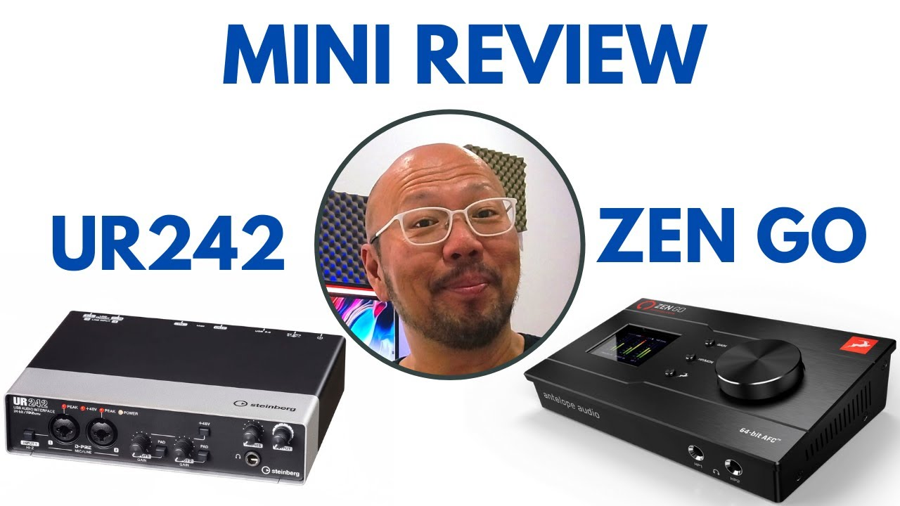 My Mini Review of My New Audio Interface