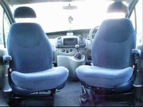 Renault Trafic Van Captain Seats Camper Conversion
