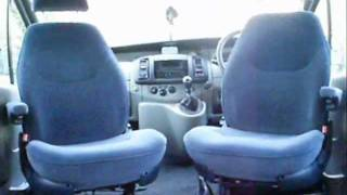 Renault Trafic Van Captain Seats ( camper van conversion )