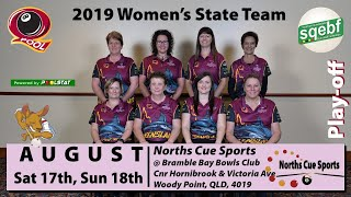 2019 QEBF Masters & Womens State  Team Play-off  3pm