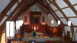 Music from the full Music Ministry Mass 11 AM 021515AD