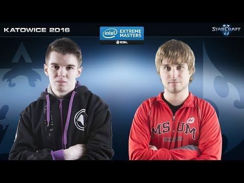 StarCraft 2 - MarineLorD vs. puCK (TvP) - IEM Katowice 2016 - Ro32