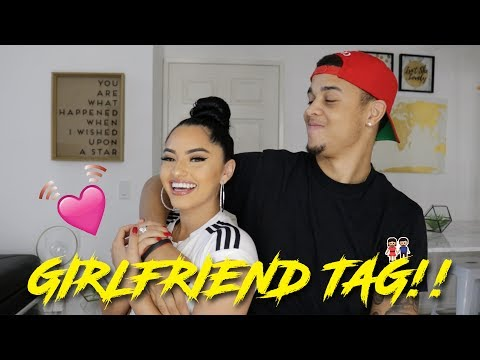 HOW WE MET?! GIRLFRIEND TAG | THEEREALKARLAJ & KBURTON