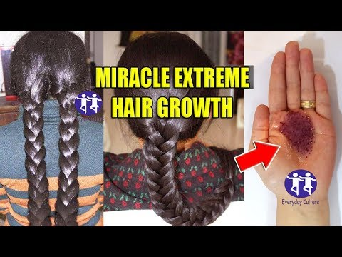 MIRACLE EXTREME HAIR GROWTH REMEDY | LONG HAIR | THICK HAIR | your hair will Never stop Growing