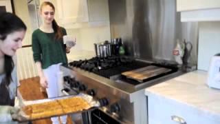 Cooking With Hillel, Lauren, Jen, Lara, And Haley