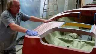 1954 Penn Yan Captivator Varnishing Update 7 3 2015