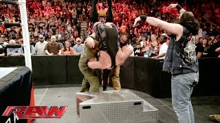 Big Show vs. Erick Rowan: Raw, February 1, 2016