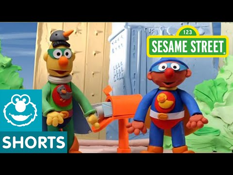 Sesame Street: Superheroes | Bert and Ernie's Great Adventures