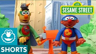 Sesame Street: Bert and Ernie are Superheroes (Bert and Ernie's Great Adventures)