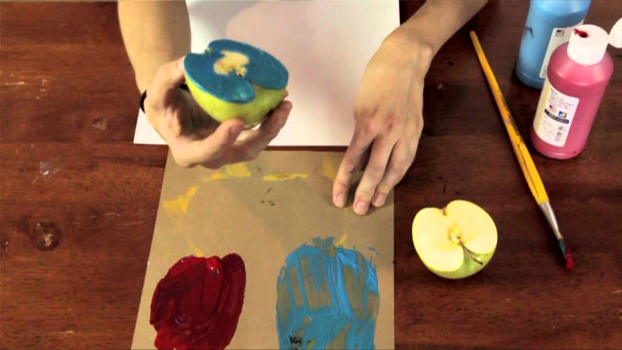 Apple Arts Craft Ideas For Preschool Children Kindergarten Crafts