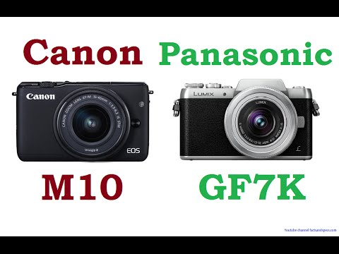 Canon EOS M10 Vs Panasonic LUMIX DMC-GF7