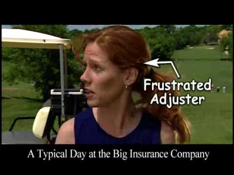 "James McKiernan Lawyers - ""Adjusters Play Golf"" Commercial"