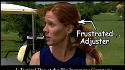 """James McKiernan Lawyers - """"Adjusters Play Golf"""" Commercial"""