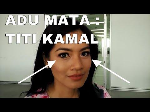 Adu Mata : Titi Kamal ( Staring Duel )