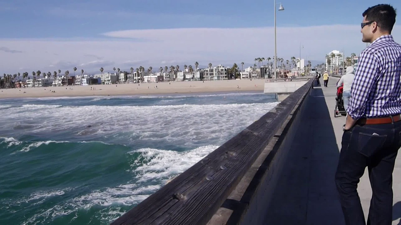 Venice Fishing Pier Marina Del Rey California