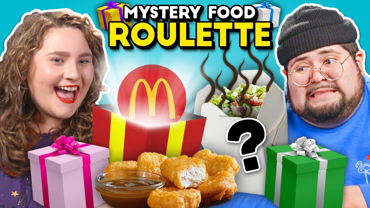 Mystery Food Roulette I People Vs. Food
