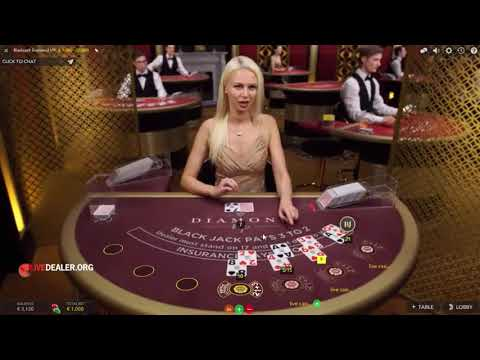 Diamond Live Blackjack: €1000 A Hand