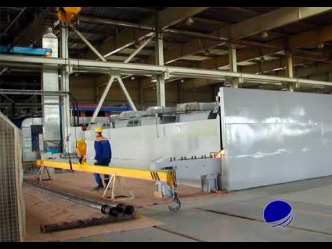 GRP Pipe Production Equipment and Technology – Discontinuous Filament Winding process.