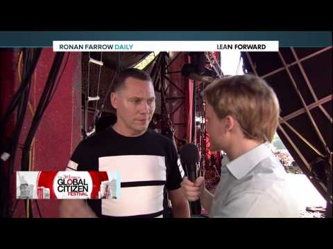 GCF 2014: Backstage Interview with Tiesto
