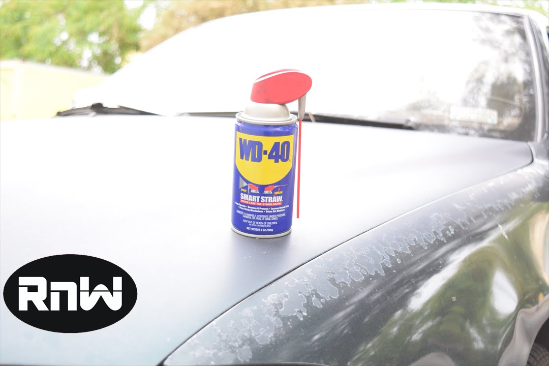 How To Remove Scratches From Your Car Wd 40 Test Youtube