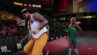 The Godfather Entrance (WWE 2K18)