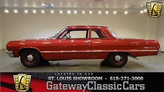 #7181 1964 Chevrolet Biscayne - Gateway Classic Cars of St. Louis