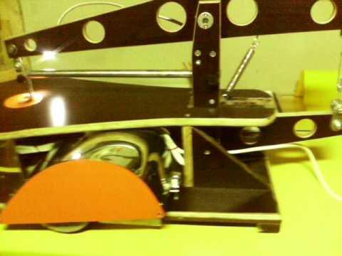 Самодельный настольный электролобзик из компрессора