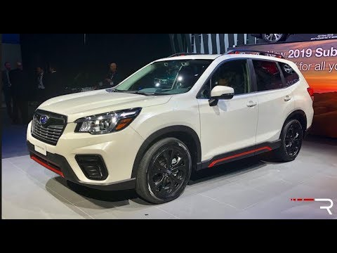 2019 Subaru Forester Sport Redline First Look 2018 Nyias Youtube