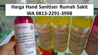 Jual hand sanitizer rumah sakit, harga untuk s...