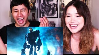 READY PLAYER ONE | Steven Spielberg | Comic Con 2017 | Trailer | Reaction!