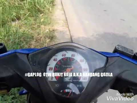 Jalan jalan ke Tebing koja Kandang Gozila