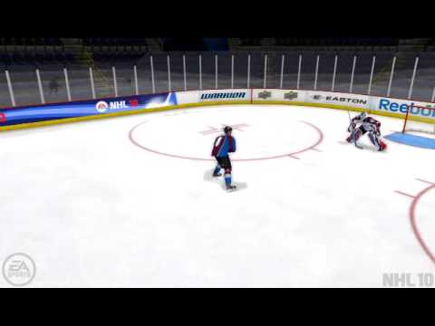 NHL10 Wolski Penalty   Trainingsmode