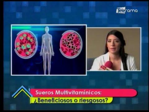 Sueros Multivitamínicos Beneficios o riesgosos