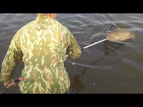 На рыбалке и