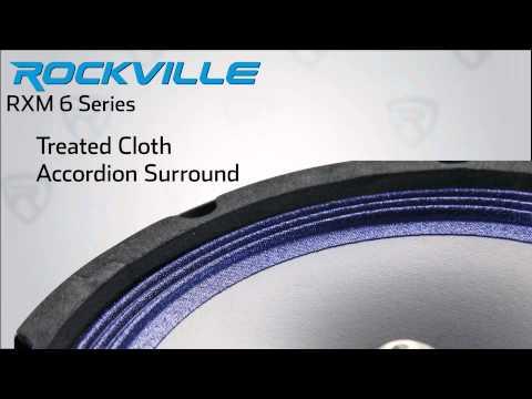 Rockville - RXM 64 or 68 - Mid-Range Speaker - 150 Watts - Overview thumbnail