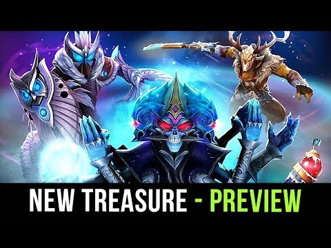 New Seasonal Dota 2 Treasure is out! Frostivus 2018 Treasure 2 FULL Preview thumbnail