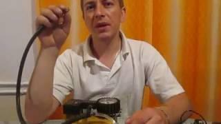 видео Компрессор для аэрографии своими руками