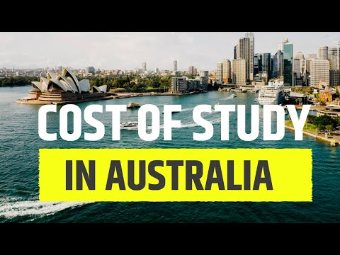 Cost Of Studying In Australia | A Complete Breakdown Of The Costs Involved