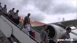 España aterriza en Tblisi (Georgia)