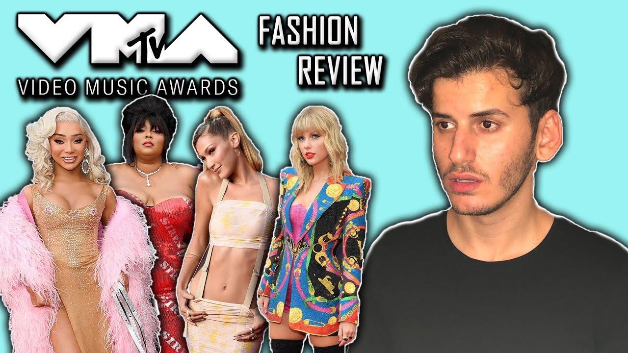VMA'S 2019 RED CARPET FASHION REACTION! (feat. Taylor Swift, Camila Cabello, Halsey...)