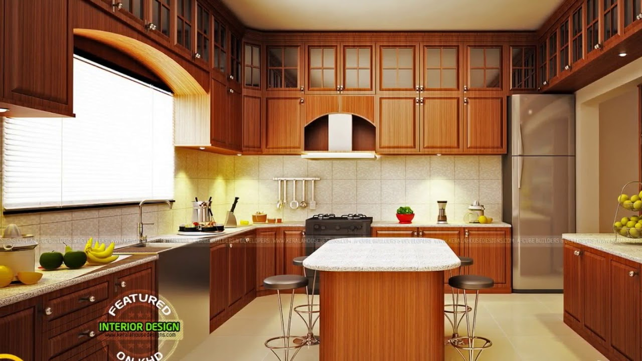 Modern Modular Kitchen Cabinets Design India - YouTube