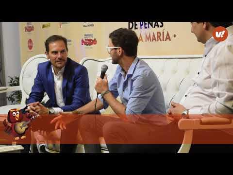 Axel en conferencia de prensa Villa Maria 2018